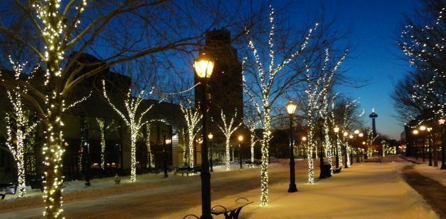 Kicking Off The Holiday Season In Niagara Falls, USA