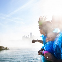 niagara falls with family