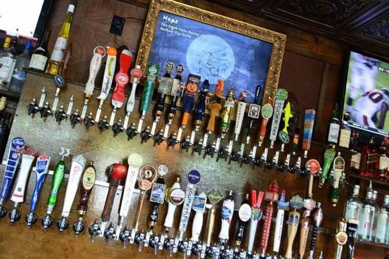 griffon gastropub beer options on tap