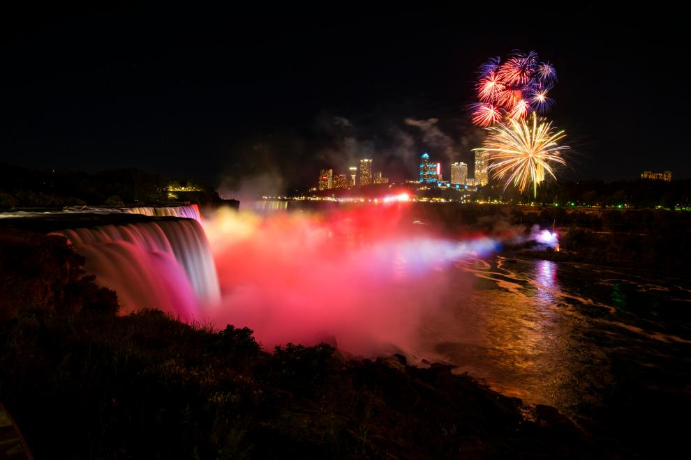 niagara falls 4th of july fireworks 2020